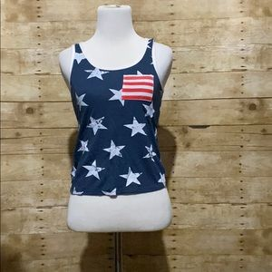 💕tank top with stars